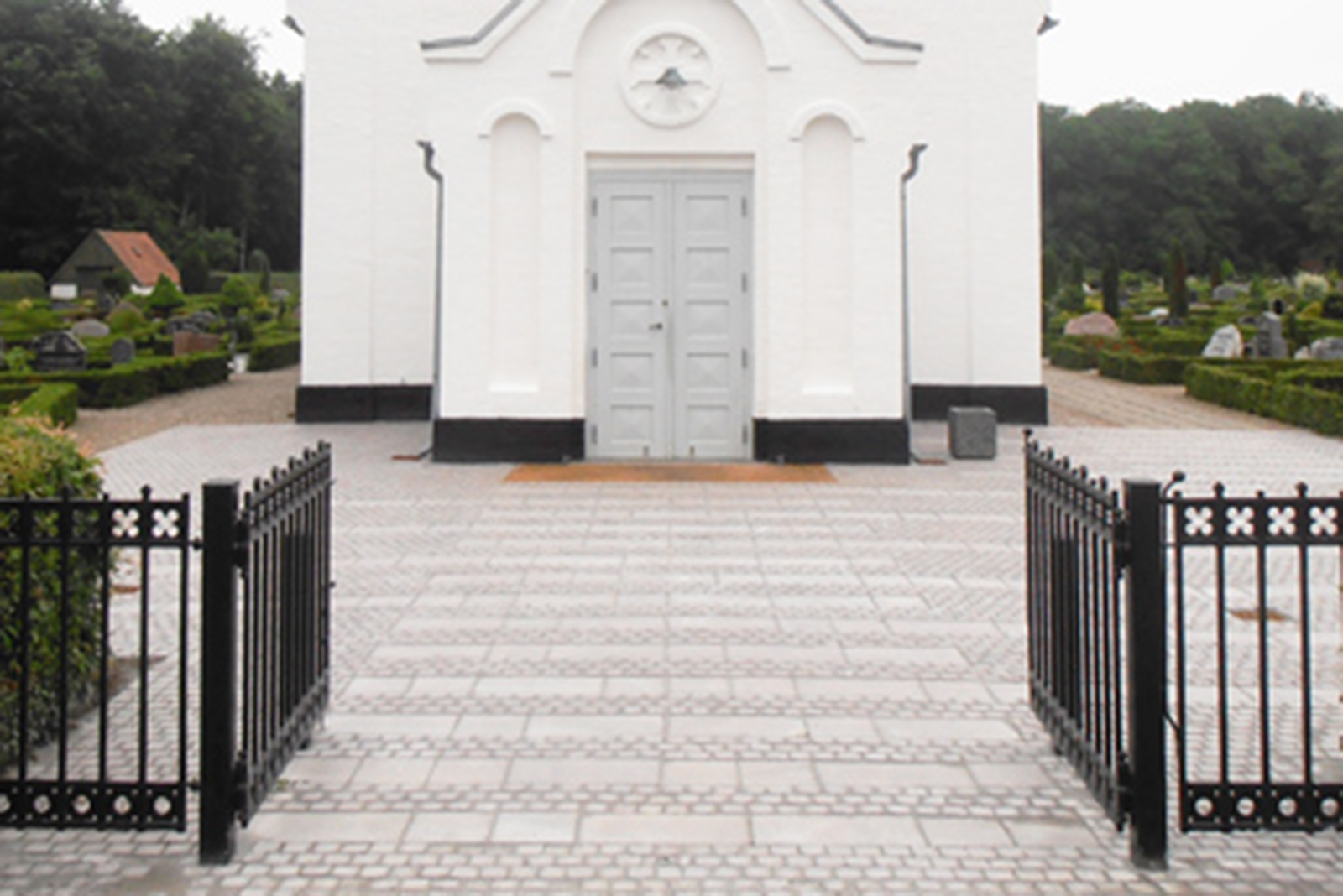 Frederiks-kirke forplads MOOS LANDSKABER