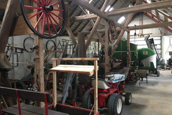 Udstilling landbrugsmaskiner MOOS LANDSKABER