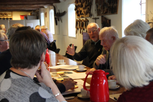 Frivillige og brugere samlet til workshop i Landbomuseet Kolding