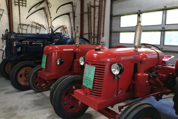Traktorer Landbomuseet Kolding MOOS LANDSKABER