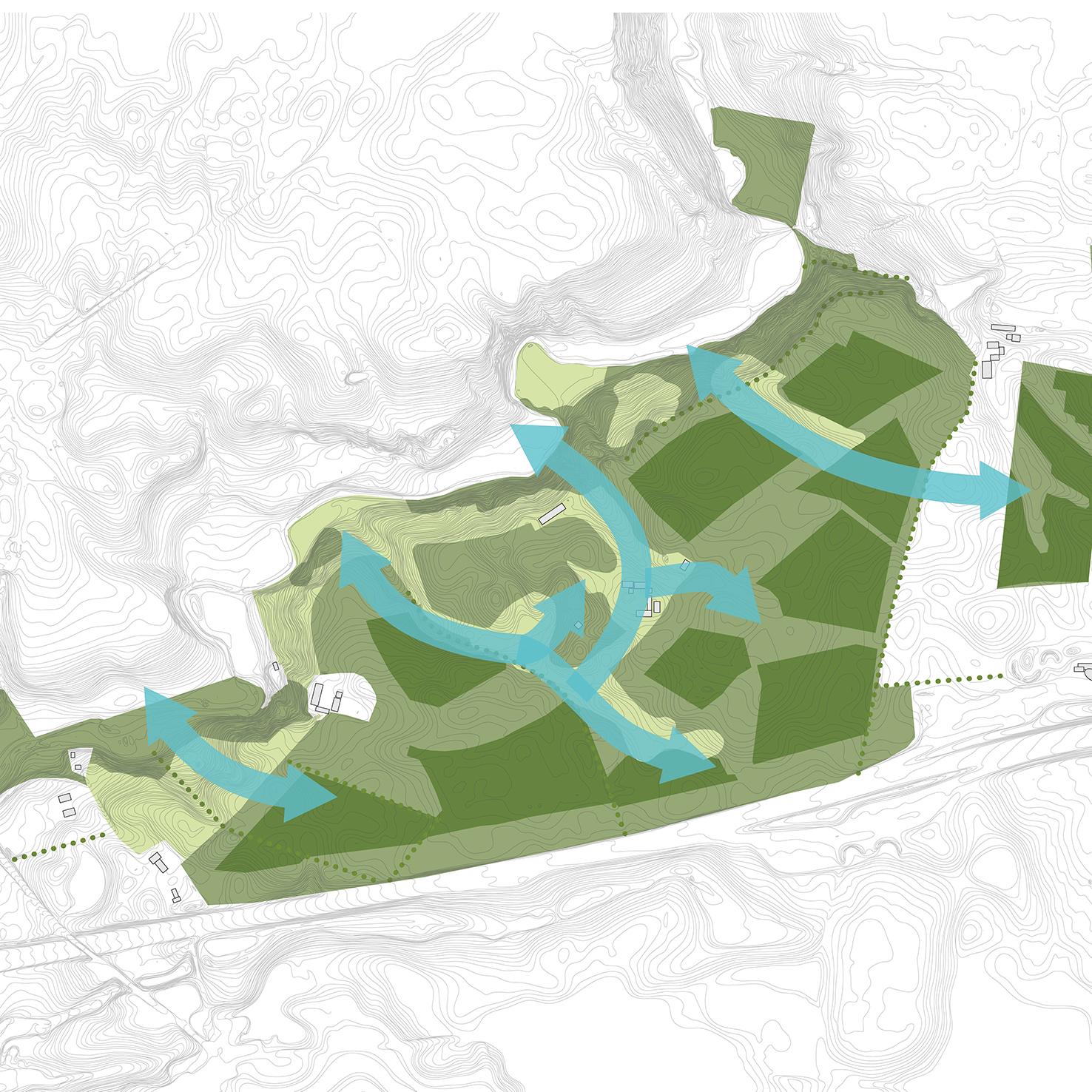 Landbomuseet Kolding MOOS LANDSKABER analyse skovkort
