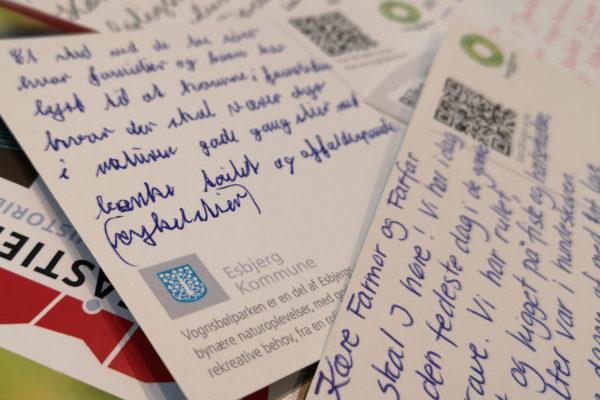 Prostkortskrivning Tjæreborg gl grusgrave dialogmøde MOOS LANDSKABER