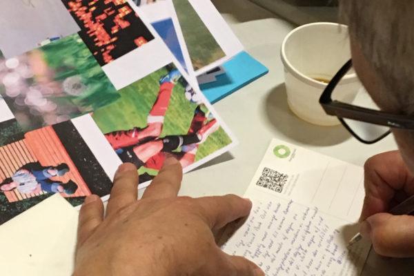 postkort skrivning Tjæreborg gl grusgrave dialogmøde MOOS LANDSKABER