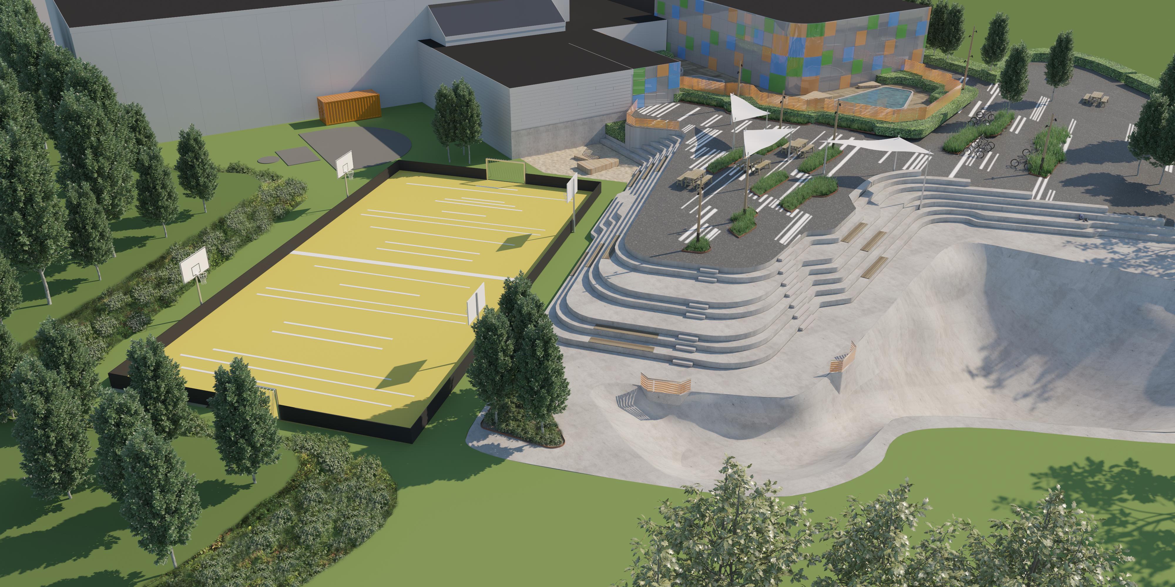Arena Syd Illustration_2 MOOS LANDSKABER