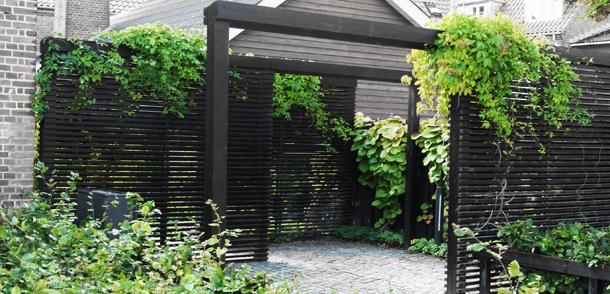 Ølgod hotelpassagen_pergola MOOS LANDSKABER