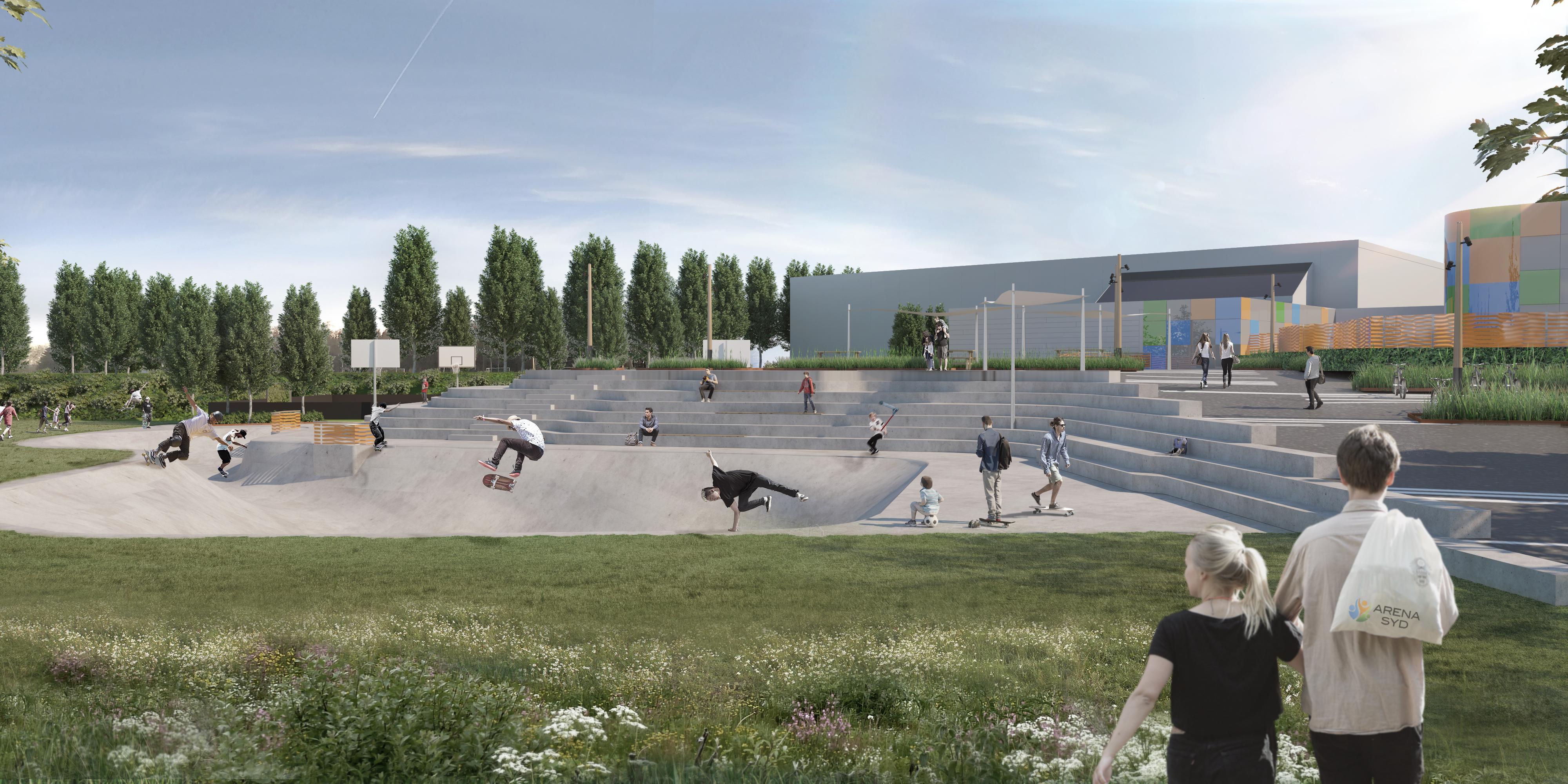 MOOS LANDSKABER Arena Syd