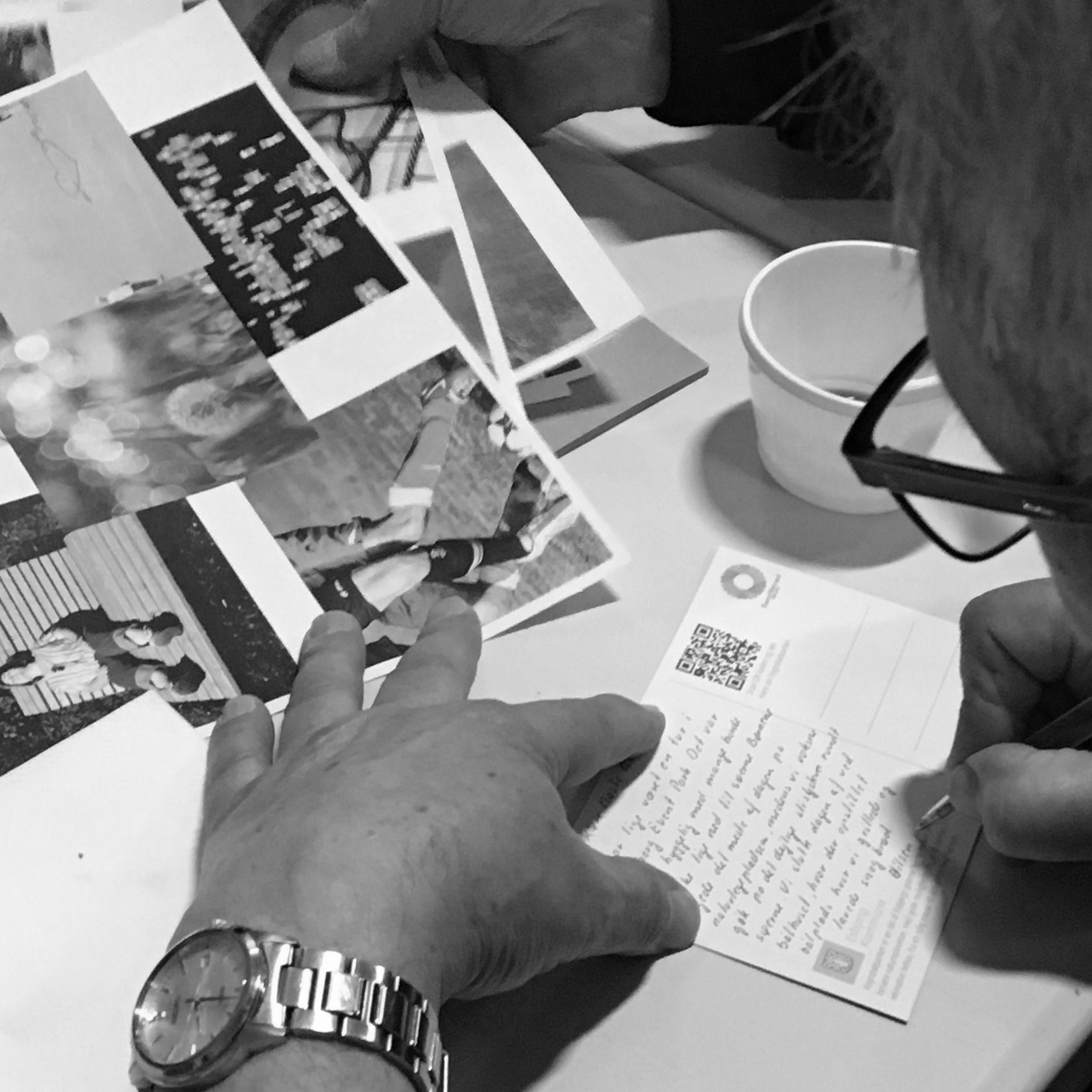 postkort-skrivning_1a SH Tjæreborg workshop MOOS LANDSKABER